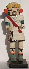 "Vintage 11 1/4"" Tall 1930's-1940's Hopi Corn Dancer Katsina Kachina Doll"