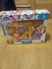 Nueva MY LITTLE PONY APPLEJACK Twisty Twirly Peinados Toy-más barato en eBay