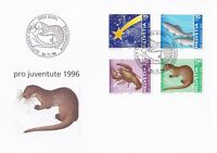 SW38) Switzerland 1996 Pro Juventute - Comet - Animals FDC.