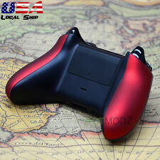 Soft Touch Red Housing Panel Side Rails Handles Repair for Xbox One Controller