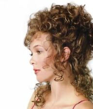 VICTORIAN LADY COSTUME WIG GIBSON GIRL CURLY MARIE ANTOINETTE QUEEN ELIZABETH