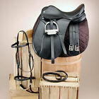 Silver Fox Dressage Saddle Set