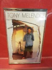 TONY MELENDEZ NEVER BE SAME CASSETTE TAPE Armless Guitarist Inspirational