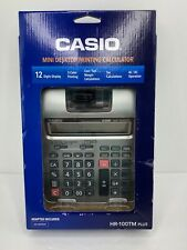 Casio Printing Calculator HR-100 PLUS new, open box