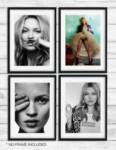Beautiful Fashion Art Kate Moss 'life is a joke' OFFICE home decor wallart print