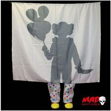 SCARY Clown Silhouette Halloween Prop - IT Scene Decoration Creepy Pennywise !