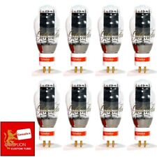 New Genalex Reissue PX300B / 300B GOLD PIN Vacuum Tubes - Matched Octet