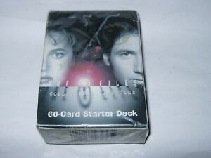 New Old Stock The X-Files Card Game 60 card starter deck