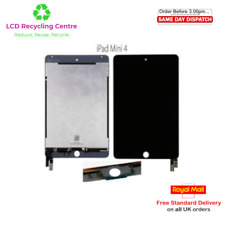 Original LCD Screen Digitizer Replacement iPad Mini 4 Black Grade B/C