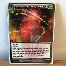 Chaotic Card - Super Rare - Choral Of The Apparition *I Combine Shipping*