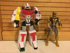 "2004 Bandai Power Rangers SPD Delta Battlized Megazord 6 1/2""-2005 Ranger Figure"