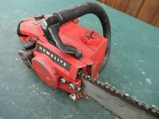 "Vintage  HOMELITE  Chainsaw Chain Saw with 16"" Bar"