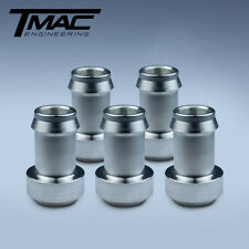 "Aluminium Weld On Fittings Barb 1/2"" - 5 Pack"