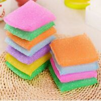 Nonstick Oil Scouring Pad Cleaning Bowl Cloth Kitchen Accessories Sponge Brush