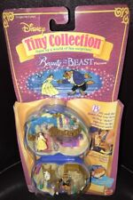 Polly Pocket Tiny Collection Disney Beauty and the Beast Vintage 1995 MOC RARE