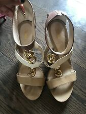 Size 36 1/2 Fendi Shoes Sexy Gold Chain Link