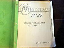 Mooney M-20 Service & Maintenance Manual