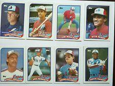TOPPS 1989 Montreal Expos MLB baseball cards (lot of 24)