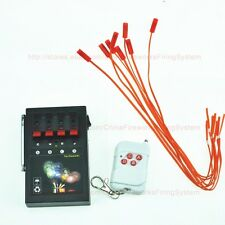 Free Shipping+4cues fireworks firing system+Programmable remote+party system
