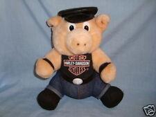 Harley Davidson Plush Pig/Hog Vintage 1993 Play-by-Play