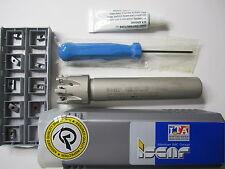 "ISCAR FACE MILL1.00"" DIAMETER HELIPLUS HP E90AN-D1.00-7-C.75-7C MILL"