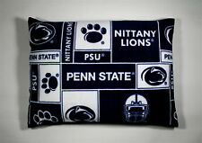 "2-PENN STATE FLEECE PRINT /STANDARD PILLOW CASE 20""X25""  BLUE BACK-3 CHOICES"