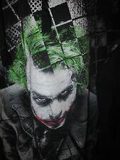 Men's BATMAN The Joker Heath Ledger zip hoodie size XXL 2X