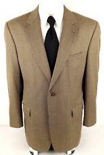 JOS A BANK Signature 42L Gordon 2 Button Hazel Wood Houndstooth Wool Sport Coat