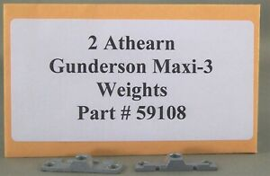 Athearn Parts - Gunderson Maxi-3 Small Weights Part # 59108