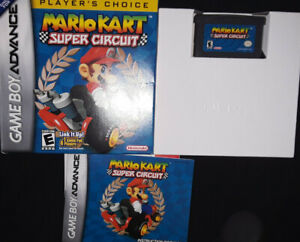 Mario Kart: Super Circuit (Game Boy Advance, 2001) GBA COMPLETE!