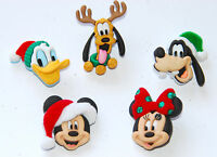 Holiday Heads / Disney Dress It Up  / Mickey & Minnie Mouse ~ Goofy ~ Pluto