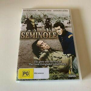 Seminole - Western DVD Umbrella release Rock Hudson