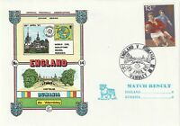 29 APR 1981 ENGLAND v RUMANIA WORLD CUP QUALIFIER DAWN FOOTBALL COVER