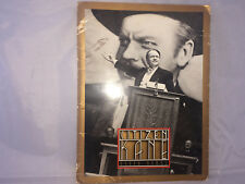 CITIZEN KANE 50TH ANNIVERSARY PRESS KIT-A PIECE OF HISTORY!! IMPOSSIBLE TO FIND!