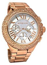 Michael Kors Ladies Camille Chronograph Rose Gold-tone Watch - MK5636