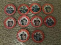 Lot of 10 1984 7 - 11 Slurpee Disc #20 Tim Raines Montreal Expos NrMt