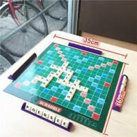 Scrabble Classique Crossword Lettres Jeu Enfants Famille Intelligent Puzzle Toy