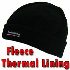 New Ladies 3M Black Thinsulate  Beanie Ski Hats Winter Warm Fleece Hat Gift