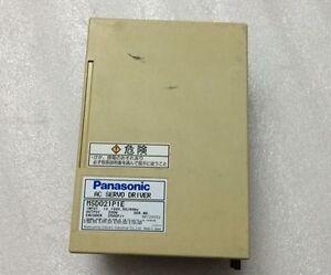 1Pcs Panasonic servo drives MSD021P1E Used