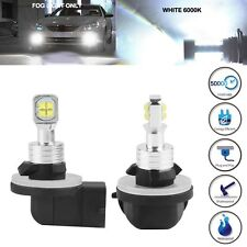 2x 881 2525 SMD LED 80W 6000K White Fog Driving DRL Lights Bulb Lamp 886 894 896