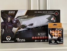 New! Nerf Rival Overwatch Reaper (Wight Edition) w/ 30 X Overwatch Rival Rounds
