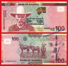 NAMIBIA 100 Dollars dolares 2012 Pick 14  SC /  UNC