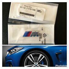 BMW 2x /// M Sport Emblem M Sticker Side Wing M Power Badge decoration