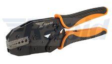 Anvil Av-CRMPE 5 acción del trinquete herramienta de crimpado para conectores de cable coaxial RG tipo