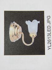 Heidi Ott Dollhouse Miniature Light 1:12 Scale LED Battery Wall Lamp #YL2613