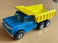 Matchbox Lesney Superfast No 48 Dodge Dumper Truck