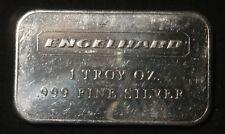 "ENGELHARD LANDSCAPE 1 OZ .999+ SILVER BAR   ID-EI-1A  ""RARE"" LOT 140515"
