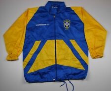 Vintage Umbro Brazil Brasil Jacket TT Tracktop Zipped