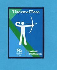 RIO 2016 - PANINI -Figurina CARD n.42/45 - TIRO CON L'ARCO -NEW