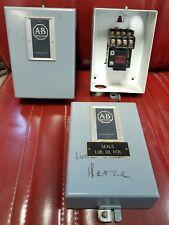 Allen Bradley 702L Contactor, Motor starter, 10 Amp, 480 V